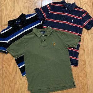 Set of 3 Youth Polo shirts